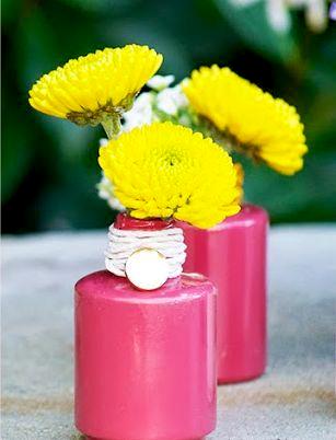 Мини-вазочки для украшения дома за 5 минут фото 5