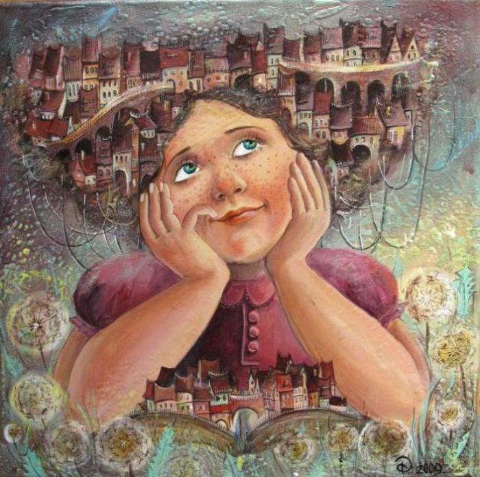 Неосознанные сновидения об источнике всего сущего. Автор: Яна Фефелова.