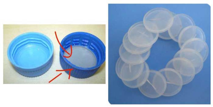 Прозрачные диски в крышечках позволяют сохранить напиток газированным.