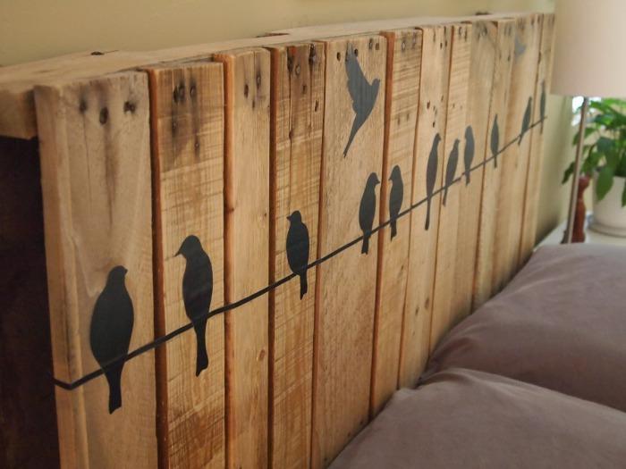 Украшение на стену «Птички». Для каждой птички своя доска.