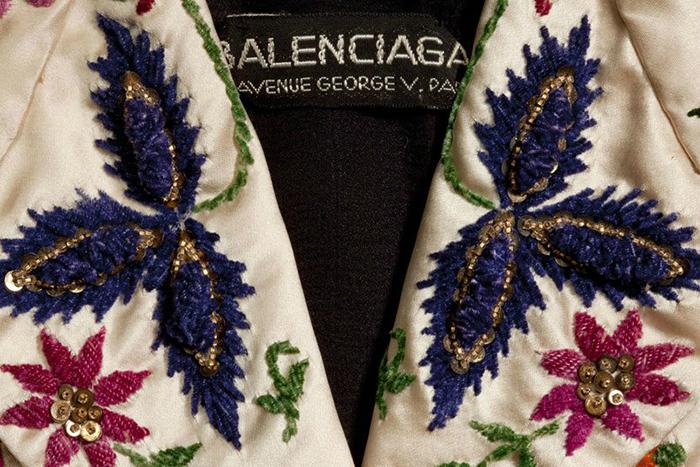 Вышивка для Balenciaga.