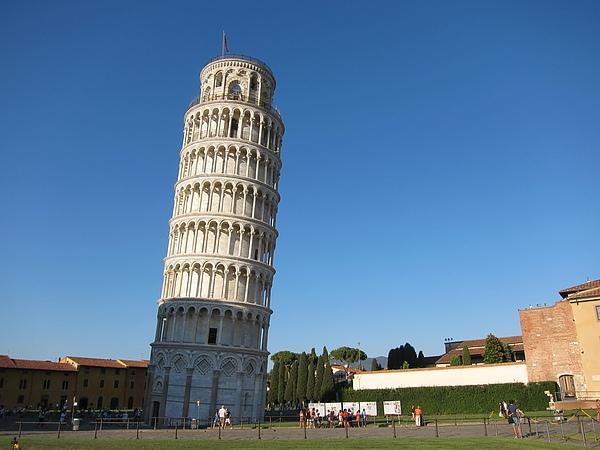 картинка пизанская башня