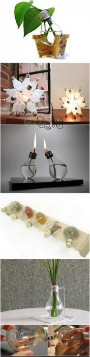 Идеи по использованию лампочек