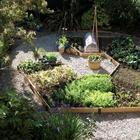 35 чудесных идей оформления огорода