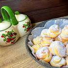 Творожные булочки на сковороде