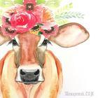 Печальная  корова,  или  всё  на  букву  Лю (Стих)