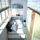 Стильные балконы, интерьер которых вдохновляет на перемены