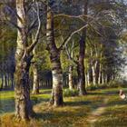 Русский художник-пейзажист Михаил Константинович барон Клодт фон Юргенсбург