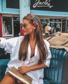 Летний модный микротренд: платок в волосах