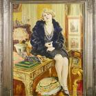 Чешский художник Йозеф - Индржих Лоукота (1879 - 1967) и его женские образы.