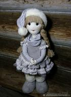 Изготавливаем каркасную куклу «Снежное Облачко»