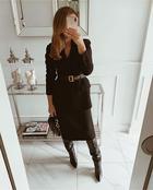 Стильные зимние юбки