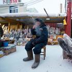 Леденящий фоторепортаж обычного зимнего якутского дня