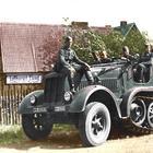 Бронеавтомобили Германии. Часть 3: полугусеничные бронеавтомобили и бронетранспортеры