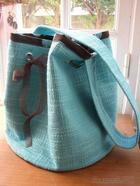 Как сшить модную сумку-мешок с круглым дном