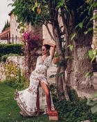 Как носить длинные летние платья