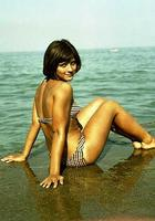 Советские знаменитости на пляже