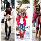 Зимняя мода - уличный стиль - как на улице выглядеть стильно?