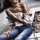 Стильные образы и грамотные сочетания блузок и рубашек