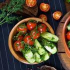 Малосольные овощи по-домашнему