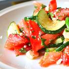 Любимый летний салат! Быстрый салат из кабачков за 5 минут // Вкусный салат за 5 минут