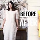 Мама-дизайнер превращает старые вещи в стильные наряды для себя и дочерей