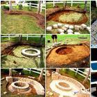 Идеи применения кирпича в саду