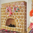 Шьем пряничный камин, или Арт-объект, игрушка для ребенка и большой кофейно-коричный ароматизатор «в одном флаконе»
