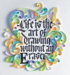 Невероятно красивые работы из цветной бумаги