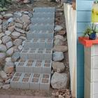 Брутальная простота: 12 вариантов использования шлакоблоков для дома и дачи
