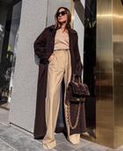 Модные зимние брюки