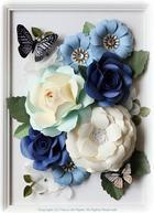 Гигантские цветы из бумаги для декора