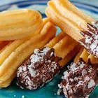 """Сладенькое за 30 минут без духовки """"за копейки"""" - Чуррос - испанский десерт"""