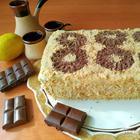 Быстрый тортик к чаю (не нужно выпекать)