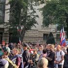 """Протестующие в Берлине скандировали """"Путин!"""""""
