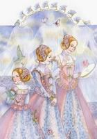 Волшебный и добрый мир акварели Марии Курбатовой