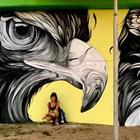 Фантастически красочные граффити