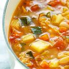 Постный овощной суп за 30 минут - Итальянский суп Минестроне