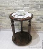Мастерим кофейный столик с «коваными» элементами