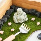 Миниатюрный сад камней своими руками