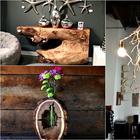 Идеи декора из натурального дерева