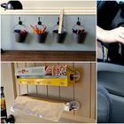19 идей, как с помощью пластиковых крючков сделать массу полезного в доме