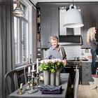 Квартира в серых тонах в Швеции