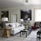 Классика с ярким характером: обновлённый интерьер особняка в США