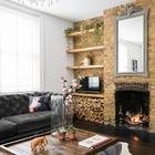 Красивая кирпичная квартира в Лондоне