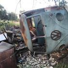 Дом на колёсах из старого фургона