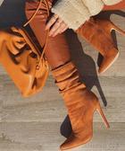 Коричневые сапоги: 20 самых стильных решений для восхитительных модниц