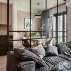 Как на 52 «квадратах» можно сделать приличную гостиную, кухню-столовую и полноценную спальню