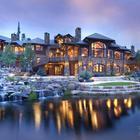 Дом на землях Grand River Ranch в Колорадо США