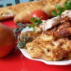 Куриное мясо в луковом кляре